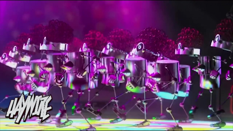 Despicable Me Agnes Vs Minions Dropping The Beat - Haywire Mashup 2013.mp4