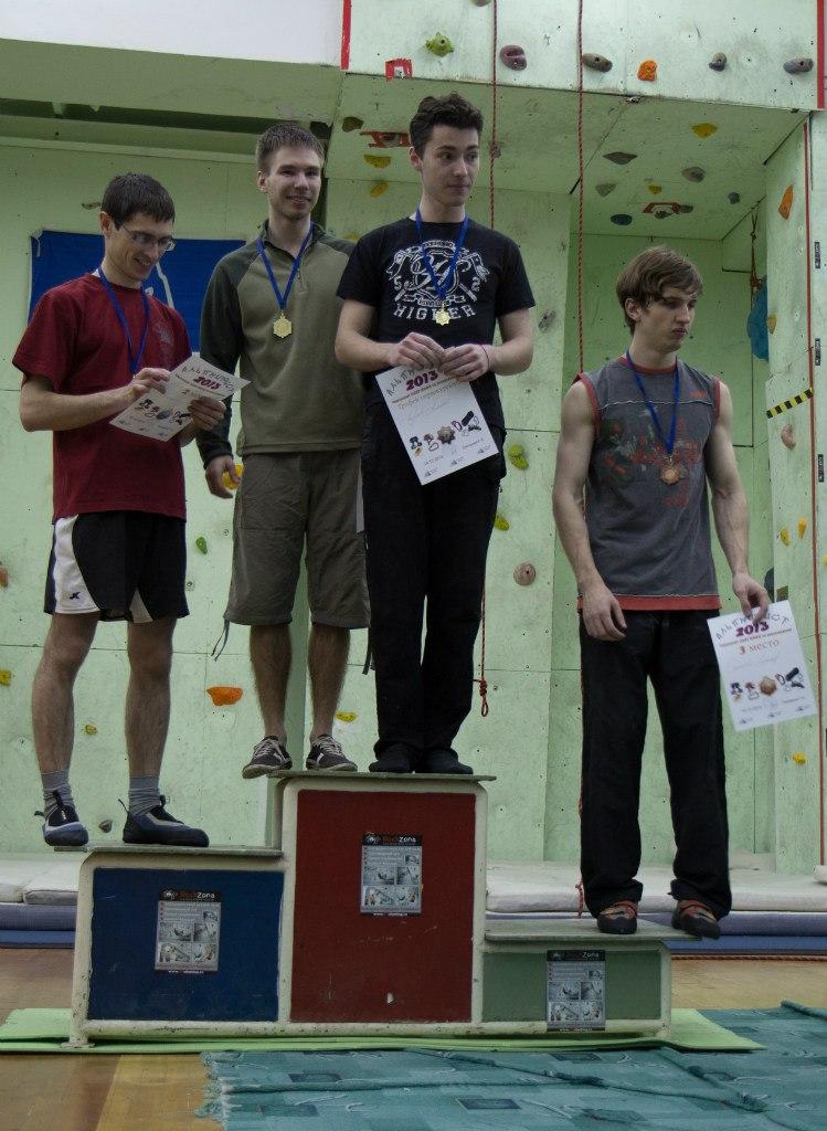 Победители и призёры среди мужчин. Фото Василия Белоусова