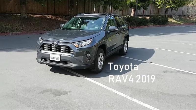 Новая Toyota RAV4 2019 на русском