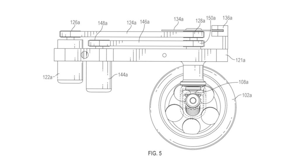 Компания Facebook патентует самоуравновешивающийся автоматизированный концепт с двумя колесами