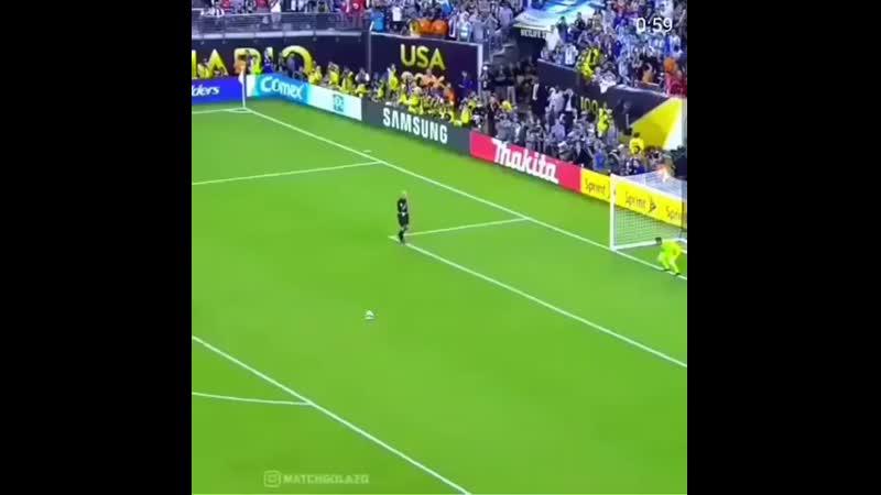Серия пенальти Чили Аргентина 4 2
