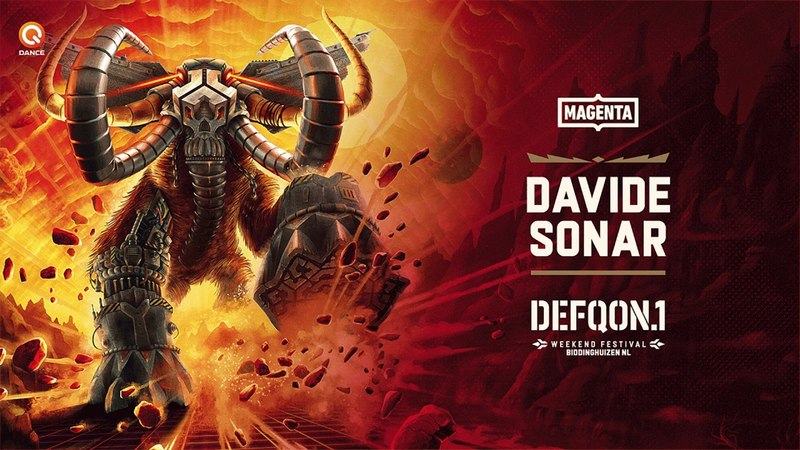 The Colors of Defqon.1 2018 | MAGENTA mix by Davide Sonar