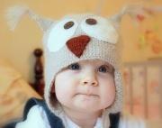 Как вязать крючком шапочку для ребенка.