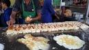 Al Madina Burger Street Food of Karachi Pakistan Triple Layered 50 Egg Burgers BUN KABAB