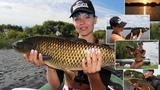 Ловля с лодки. Ловля амура в траве на поплавок. Платная рыбалка в д. Ерши #13