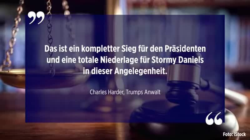 Stormy Daniels muss Trump Anwaltskosten von knapp 300-000 Dollar erstatten