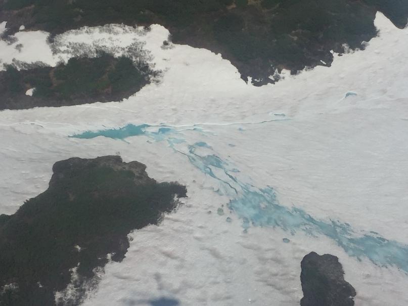 Вертолетная экскурсия. Голубые ледники