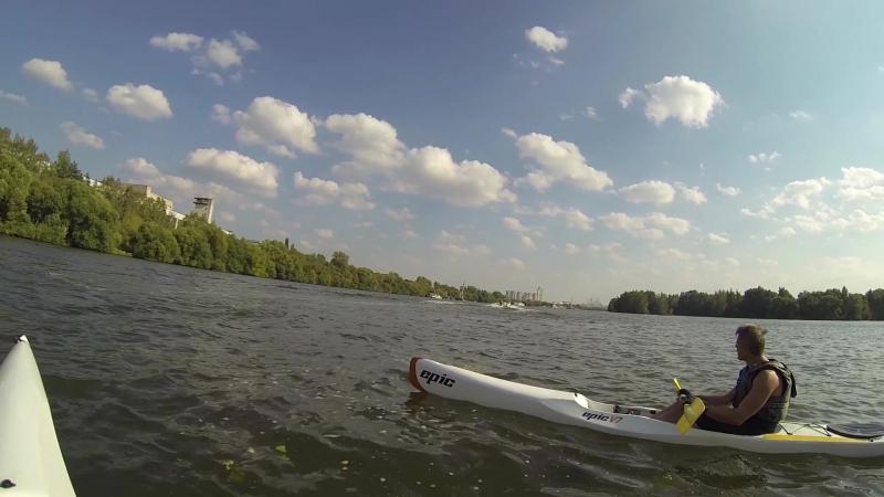Покатушки на Москве-реке
