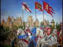 Бой катаров с крестоносцами. Осада Каркассона.