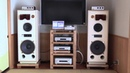 KRS model 4346 special speakers produced by KENRICK SOUND has been delivered to Mr T's home