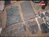 العثور على قطع أثرية وشواهد تاريخية في قصر مهدي مقولة المقرب من زعيم ميليشيا الخيانة 17-12-2017