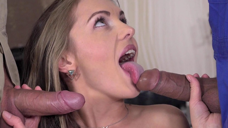 Dominica Fox ( Two Pool Boys One Girl) 2017, Teen, Threesome, All Sex, Anal, DP,