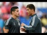 Криштиану Роналду не захотел тренироваться вместе с Хамесом Родригесом 2014
