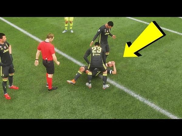 За ЭТО мы любим FIFA 19 Шикарная детализация КРАСИВЫЕ ГОЛЫ FIFA 19 PS4