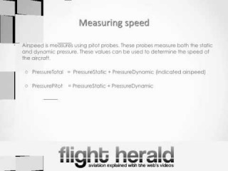 Aircraft Navigation Part I - Airspeed, Deviation, Groundspeed, Pitot Probes