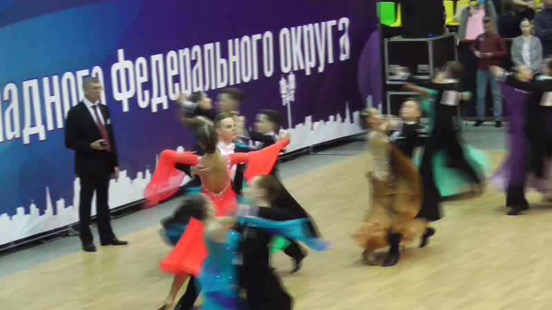 Вальc и венский вальс 1 2 18 01 2019 Первенство СПб