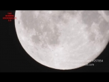 Multiple UFOs Fly Across Moon Captured by Amateur Astronomer. Rome, Italy