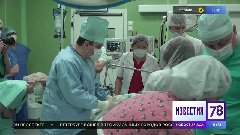 Роженица с опухолью: уникальная операция в СПбГПМУ