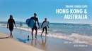 Best Gear for Travel Vlog - Hong Kong Australia Clips - Shot on Zhiyun Smooth 3 with iPhone 6S