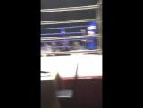 На боксе.. Семён Фролов.. и Я...в конце