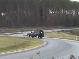 Mercedes-Benz G55 amg DRIFT!