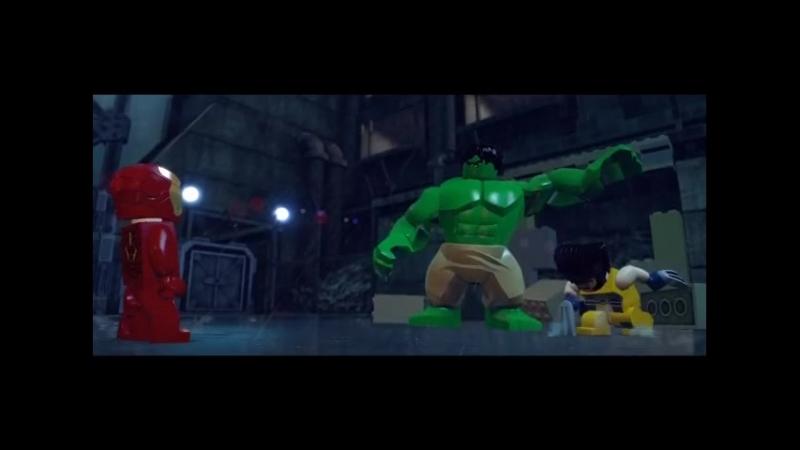LEGO Marvel Super heroes (PSOne, commercial)