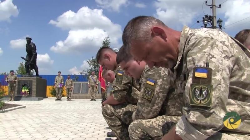 Захисники України, які виконують бойові завдання на Приазовї, дали клятву морського піхотинця.
