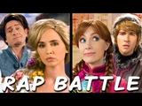 RAPUNZEL vs ANNA Princess Rap Battle (Eliza Dushku James Maslow Tom Lenk Whitney Avalon) explicit