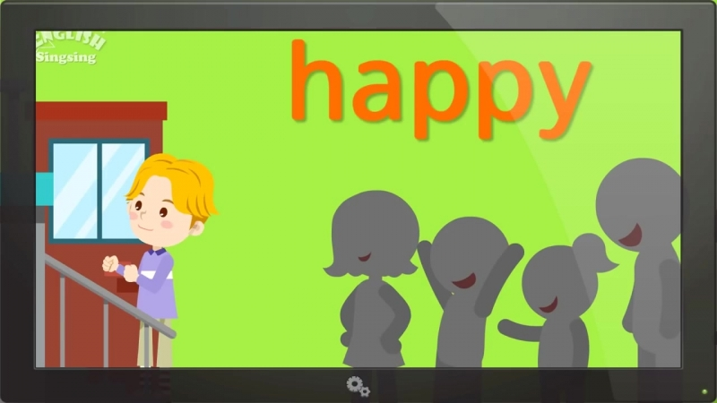Kids vocabulary - Feel (Feelings or Emotions) - Are you happy - English video for kids (1)