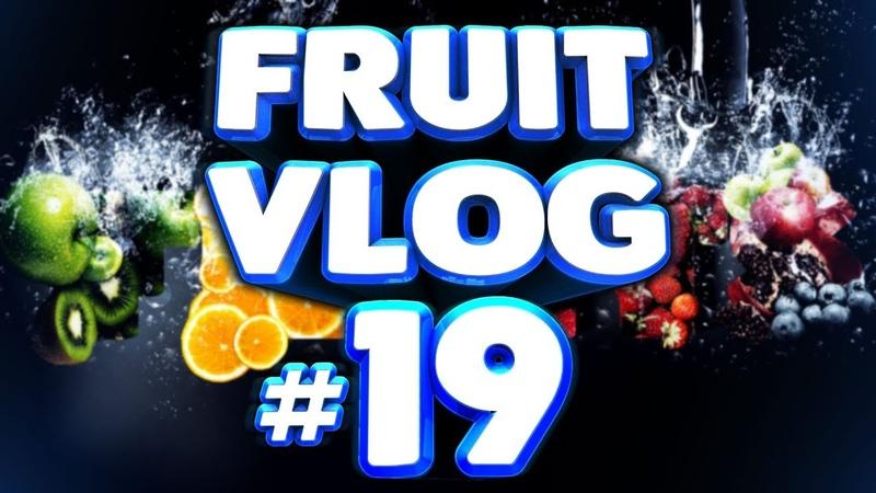 FRUIT VLOG 19 Арбузы персики инжир