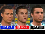 Fifa 18   Switch VS PS4 VS PS3   GRAPHICS COMPARISON   Comparativa