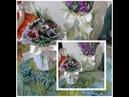 Vasos ou Cahepots com retalho de tecidos-Regina Ensina