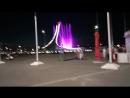 сочи, олимпийский парк вечером,покатушки денис вика