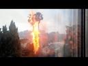 Los Angeles Palm Tree Lightning Fire