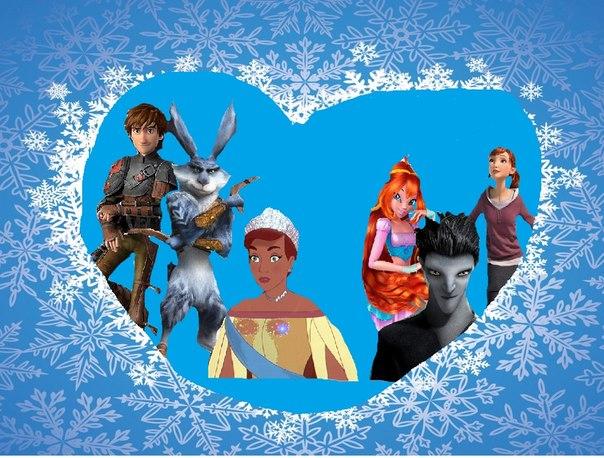 Игры новогодние одевалки и winx картинки