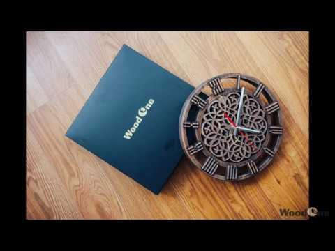 Фрезеровка часов в кельтском стиле/Milling a clock in Celtic style