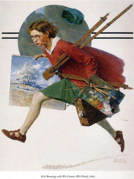 Норман Роквелл американский художник, который лучше всех изобразил Американские мечты