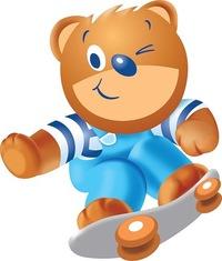 барни медвежонок фото