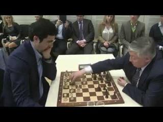 Elite CHESS!Quick draw by the legends Vladimir KRAMNIK vs Anatoly Karpov
