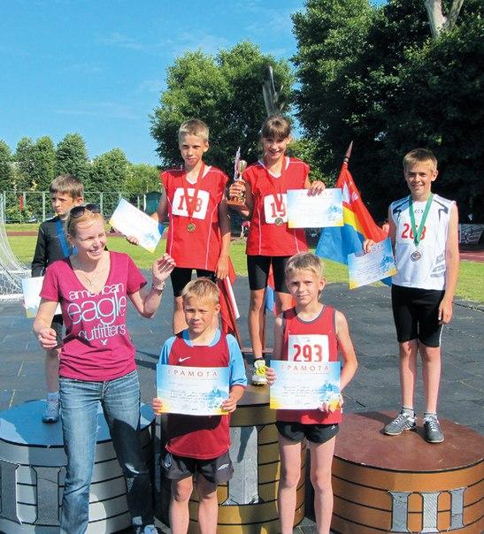 Неманские вести: Рекорды и победы неманских легкоатлетов