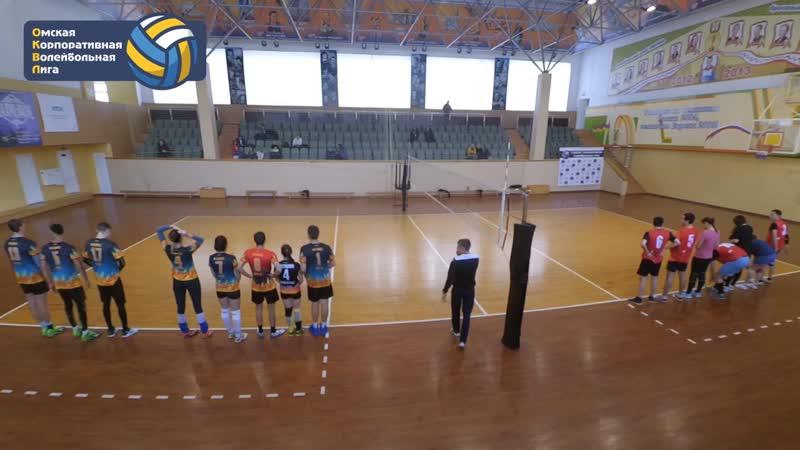 СКМ 0 2 Феникс 6 тур Сезон Осень 2018 Омская Корпоративная Волейбольная Лига ОКВЛ