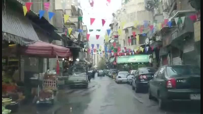 منطقة الشعلان بدمشق - 23- 11- 2018