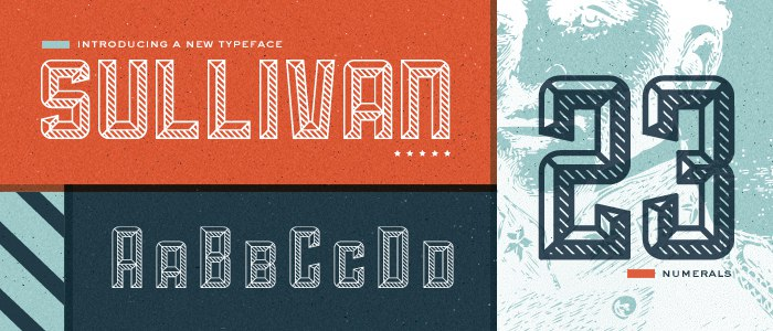 Download Sullivan Personal License font (typeface)