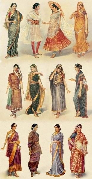Сари | Танцы в Индии
