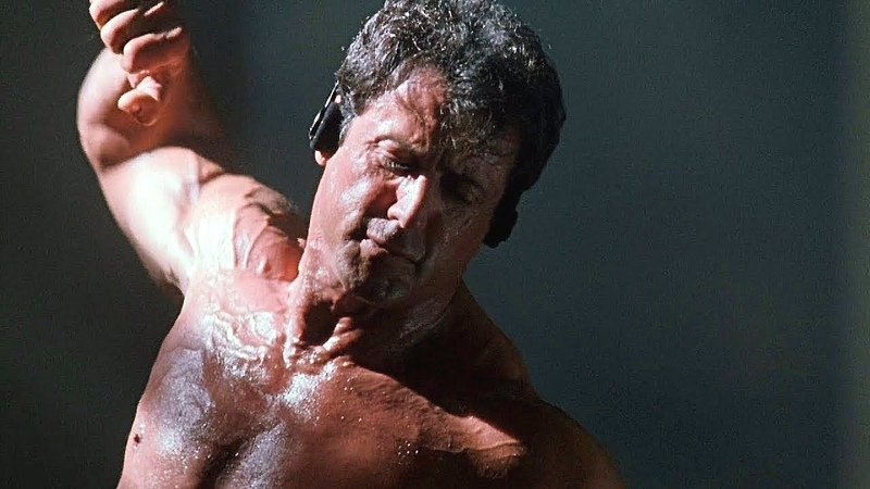 Sylvester Stallone 71 Years Old Workout