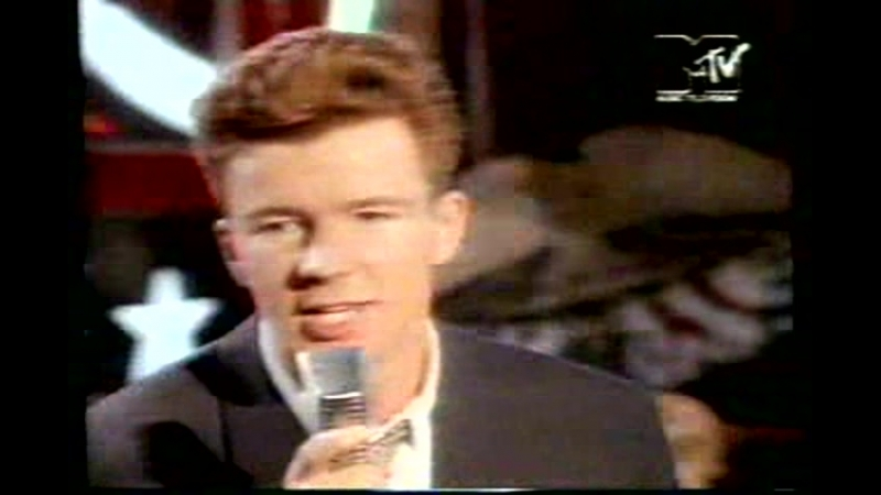 Rick astley she wants to dance with me mtv