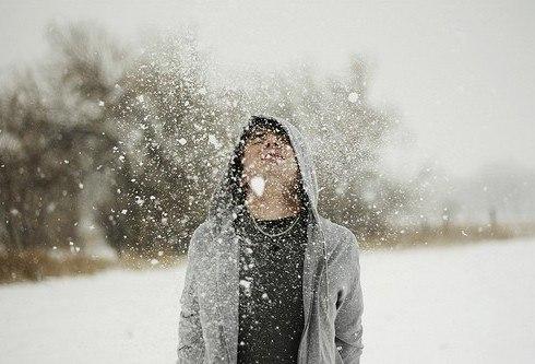 николай носков снег на гитаре