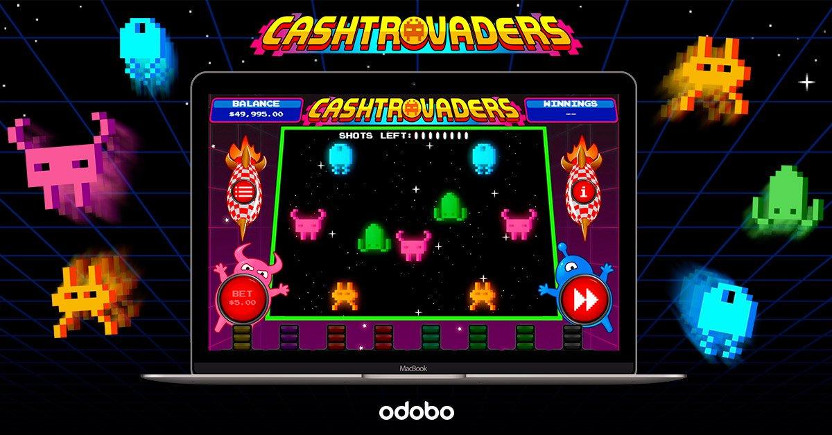 Обзор игровых автоматов (Cashtrovaders) на реальне деньги