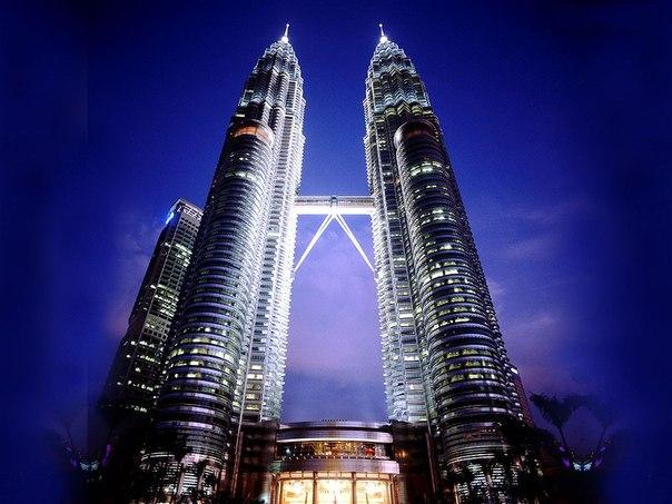 Башни Petronas в Куала-Лумпур, Малайзия