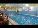 первые соревнования Макса по плаванию